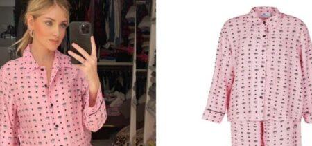 Chiara Ferragni: non il solito pigiama!