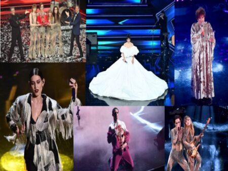 l glamour rock spacca Sanremo