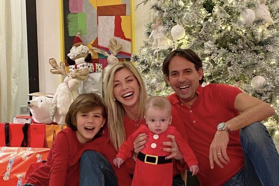 Simone Inzaghi Positivo con tutta la sua famiglia!!!
