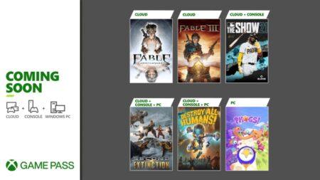 Xbox Game Pass: giochi di aprile