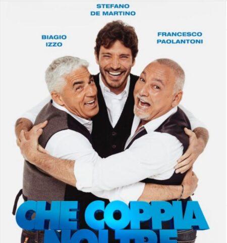 STEFANO DE MARTINO, BIAGIO IZZO e FRANCESCO PAOLANTONI; IL TRIO PARTENOPEO (CHE POTREBBE DIVENTARE UN QUARTETTO)  IN TOUR.
