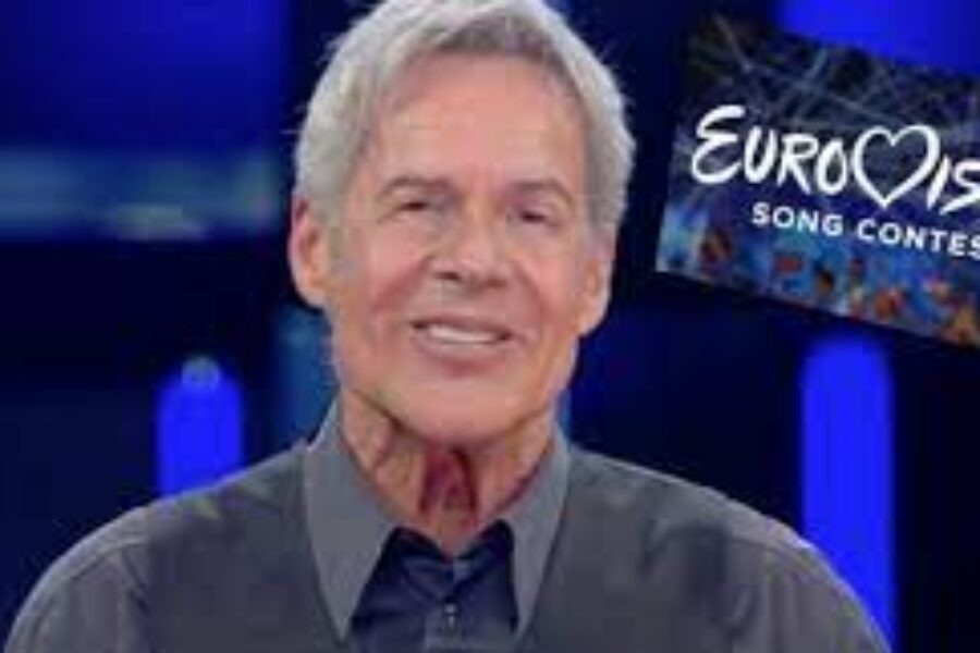BAGLIONI  pensa  ALL'EUROVISION  insieme  a  PEPARINI