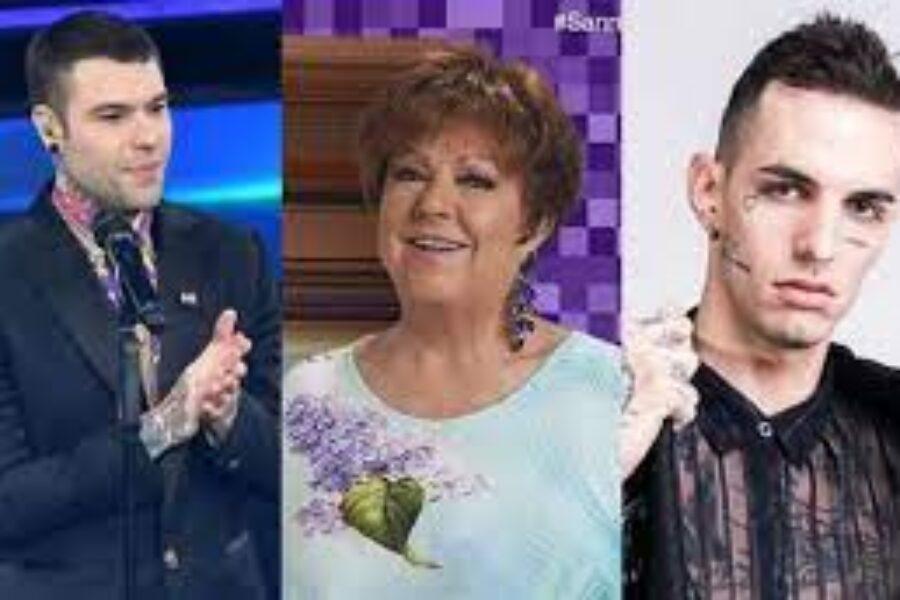 MILLE : La  HIT  di  FEDEZ,  ORIETTA BERTI  e  ACHILLE LAURO.