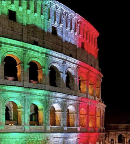 It's COMING to …ROME, forse volevate dire ?