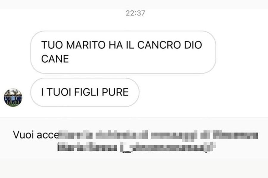 ALICE CAMPELLO MINACCIATA di MORTE…