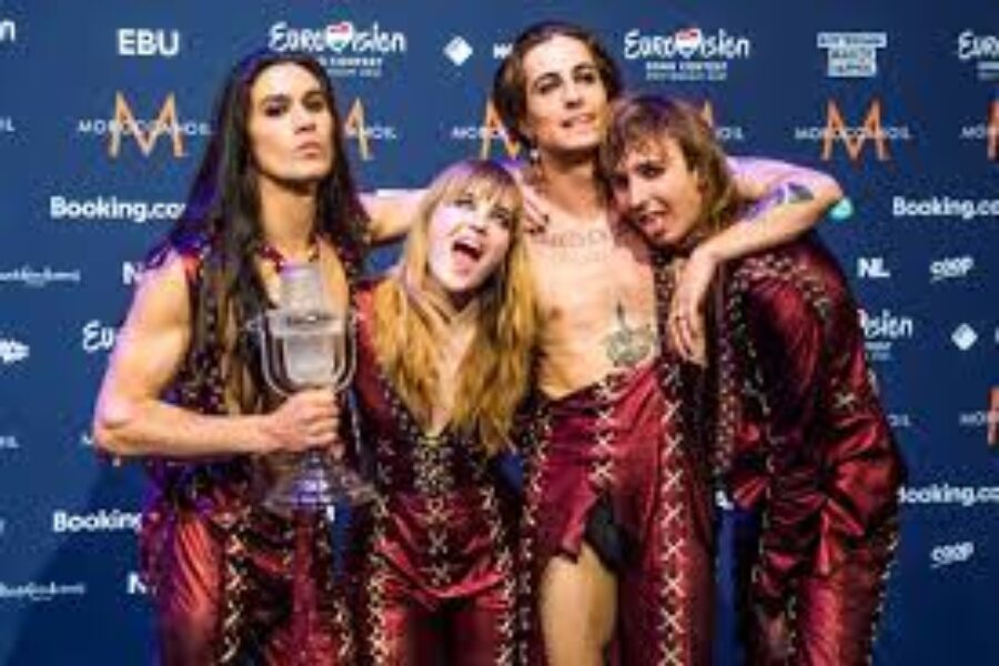 FERRAGNI e CATTELAN un DUO per  EUROVISION