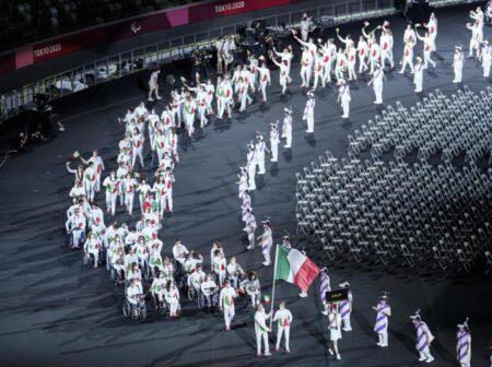 Altre  SODDISFAZIONI per l'ITALIA  alle Paralimpiadi di Tokyo 2020  e VOLA nei primi posti del MEDAGLIERE