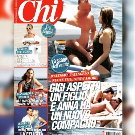 Gigi D'ALESSIO  di NUOVO  PAPA', la TATANGELO  non  APPROVA
