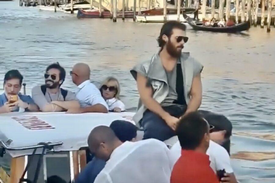 Can Yaman a Venezia