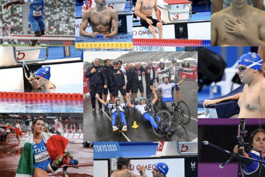 Paralimpiadi Tokyo 2020: l'Italia ARRIVA  a  65 medaglie, mai VINTE così tante dal 1988