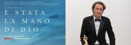 """""""È stata la MANO di Dio"""":  il film di Paolo SORRENTINO sarà il candidato ITALIANO agli OSCAR"""